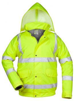 F-SAFESTYLE-Warn-Schutz-Piloten-Jacke, MARTIN, fluoreszierend, gelb