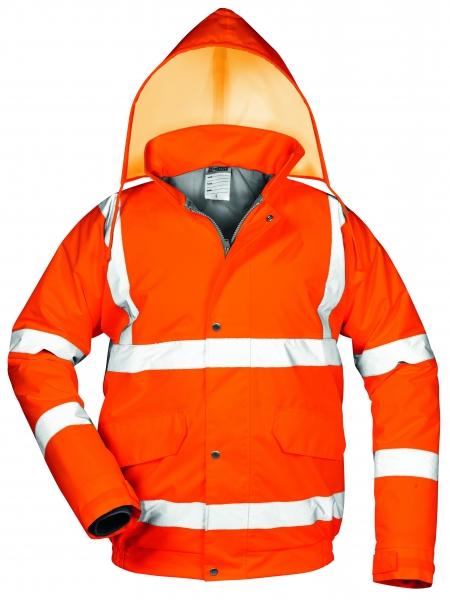 F-SAFESTYLE-Warn-Schutz-Piloten-Jacke, *EUGEN*, fluoreszierend orange