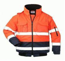 F-SAFESTYLE, Warn-Schutz-Piloten-Arbeits-Berufs-Jacke, OTTO, fluoreszierend orang