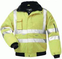 F-ELYSEE, Warn-Schutz-Piloten-Arbeits-Berufs-Jacke, FRIEDRICH, fluoreszierend, gelb