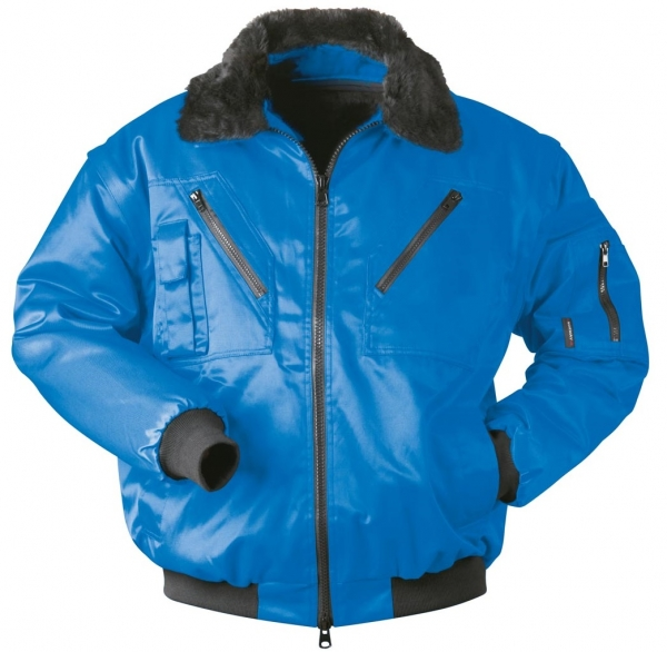 F-NORWAY, Winter-Piloten-Arbeits-Berufs-Jacke, TRONDHEIM, royal