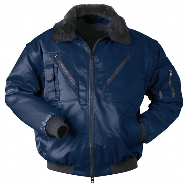 F-NORWAY, Winter-Piloten-Jacke, �STERSUND, marine