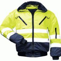 F-NORWAY, Winter-Piloten-Arbeits-Berufs-Jacke, GUNNAR, gelb/marine