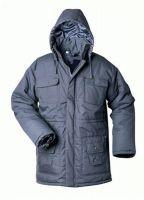 F-CRAFTLAND, Sherpa-Winter-Arbeits-Berufs-Parka, marine