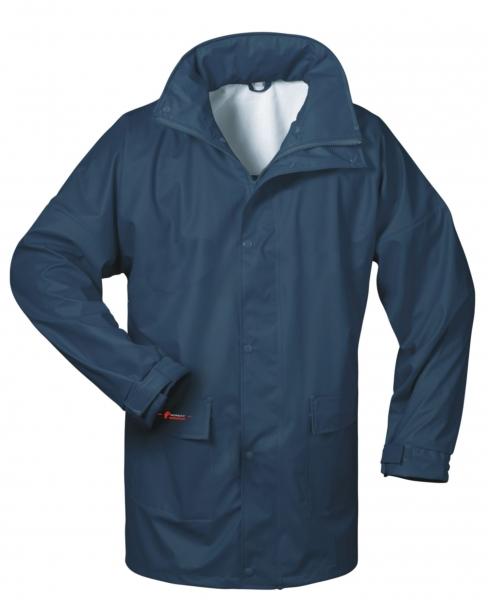 FELDTMANN-NORWAY-PU-Regen-Nässe-Wetter-Schutz-Jacke, HELSINGBORG, marine