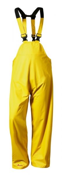 F-NORWAY-Regen-Nässe-Wetter-Schutz, PU-Latzhose, HALMSTAD, gelb