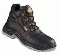 F-WICA-Sicherheits-Arbeits-Berufs-Schuhe, Schnürstiefel O1, *VITA*, schwarz/orange abgesetzt