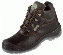 F-S3-WICA--Sicherheits-Arbeits-Berufs-Schuhe, Schnürstiefel, hoch, *MARSALA ÜK*, schwarz/orange abgesetzt