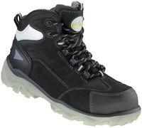 F-S3-WICA--Sicherheits-Arbeits-Berufs-Schuhe, Schnürstiefel, hoch, LICATA*, schwarz/silber abgesetzt