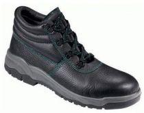 F-S3BASIC-LINE-Sicherheits-Arbeits-Berufs-Schuhe, Schnürstiefel, hoch, *WISMAR*, schwarz