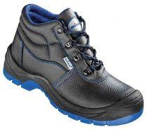 F-S3-WICA-Sicherheits-Arbeits-Berufs-Schuhe, Schnürstiefel, hoch, *COTTBUS ÜK*, schwarz/blau