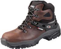 F-S3-KYNOX-Sicherheits-Arbeits-Berufs-Schuhe, Schnürstiefel, hoch, *TOLVE*, dunkelbraun
