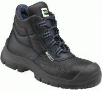 F-S3-ELYSEE-Sicherheits-Arbeits-Berufs-Schuhe, Schnürstiefel, hoch, *HAMBURG ÜK*, schwarz/blau abgesetzt