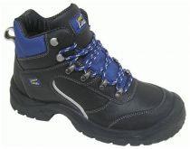 F-S3-LUCKY-LINE---Arbeits-Berufs-Schuhe, Schnürstiefel, hoch, *ZITTAU*, schwarz/dunkelblau abgesetzt