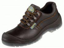 F-S3-WICA-Sicherheits-Arbeits-Berufs-Schuhe, Halbschuhe, *RAGUSA ÜK*, schwarz/orange abgesetzt