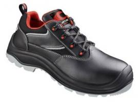 F-S3-CRAFTLAND-Sicherheits-Arbeits-Berufs-Schuhe, Halbschuhe, BILLSTEDT*, schwarz/rot