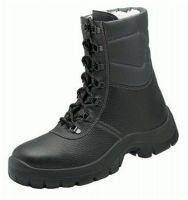 F-S3-WICA-Winter-Sicherheits-Arbeits-Berufs-Schuhe, Schnürstiefel, *HARZ*, schwarz