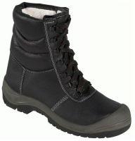 F-S3-BASIC-LINE-Winter-Sicherheits-Arbeits-Berufs-Schuhe, Schnürstiefel, *SAALFELD ÜK*, schwarz