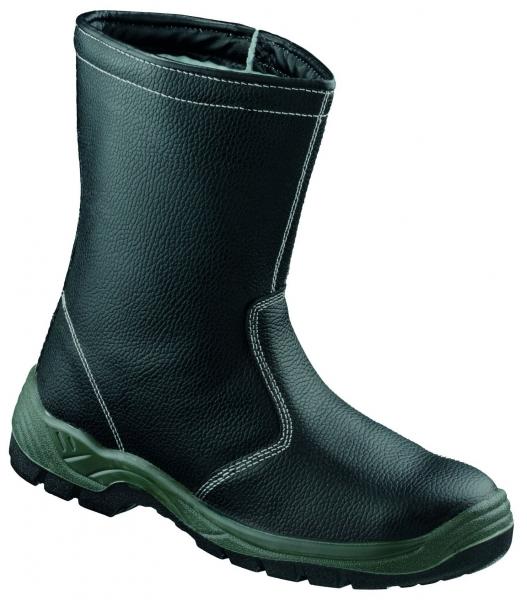 F-S3-BASIC-LINE-Winter-Sicherheits-Arbeits-Berufs-Schuhe, Schaftstiefel, *SCHNEEBERG*, schwarz
