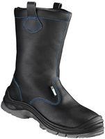 F-S3-ELYSEE-Winter-Sicherheits-Arbeits-Berufs-Schuhe, Schlupfstiefel, *NORDHOLZ ÜK*, schwarz/blau abgesetzt