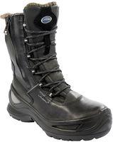 F-S3-CI-LAVORO-Winter-Sicherheits-Arbeits-Berufs-Schuhe, Schnürstiefel, *NORDMEER*, schwarz