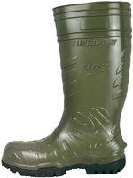 F-S5-COFRA-PU-Arbeits-Berufs-Gummi-Stiefel, ANZI, grün/schwarz