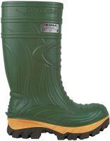 F-S5-COFRA-PU-Arbeits-Berufs-Gummi-Stiefel, FOGGIAE, grün/beige-schwarz