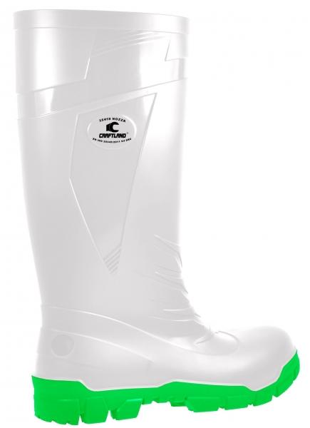 F-S4-CRAFTLAND-PVC/Nitril-Stiefel, *NOZZA*, weiß