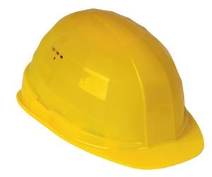 FELDTMANN-PSA-Kopfschutz, Schutzhelm, Helm BAU, gelb