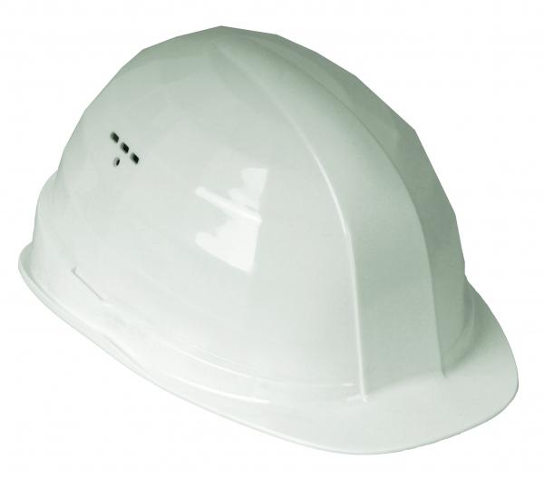 FELDTMANN-PSA-Kopfschutz, Schutzhelm, Helm BAU, weiß