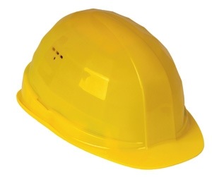FELDTMANN-PSA-Kopfschutz, Schutzhelm, Helm POLIER, gelb