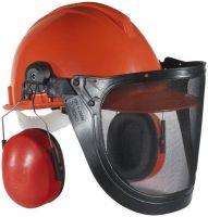 FELDTMANN-PSA-Forst-Arbeits-Schutz, Waldarbeiter-Helm-Set, orange