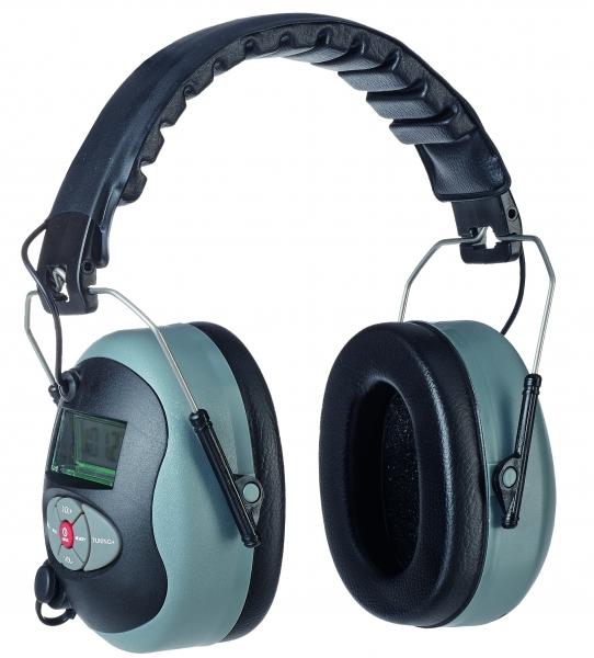 F-Radio-Gehörschutz, *TUNE* mit  LCD-Display, TECTOR, EN 352-1