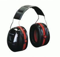 FELDTMANN-3M-PSA-Gehörschutz, PELTOR-Kapsel-Gehörschutz, Ohrstöpsel, OPTIME III, schwarz/rot