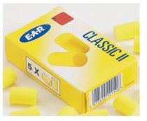 FELDTMANN-3M-PSA-Gehörschutz, Ohrstöpsel, E-A-R-Gehör-Schutz-Stöpsel, CLASSIC II Kissenpackung,