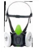 F-PSA-Atem-Schutz, Filter-Masken-Set, *UNIVERSAL*, Halbmaske, + A2 Filter + P2 Vorfilter