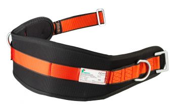 FELDTMANN-KRATOS-Fuß- und Gelenk-Schutz, Haltegurt, schwarz/orange