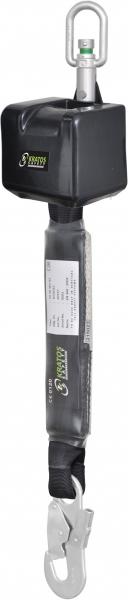 F-Höhensicherungsgerät VORAS, 2,5 m Gurtband mit Autom Rückzug, EN 360