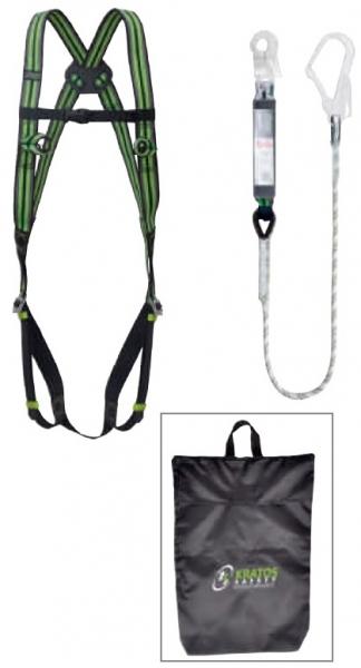F-Gerüst-Set, im handl. Beutel, inkl. Auffanggurt und Bandfalldämpfer