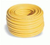 F-FELDTMANN-Schläuche und Zubehör, Trikot-Gewebe-Schlauch, ORIGINAL ALFAFLEX 1/2, gelb
