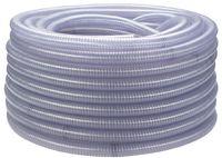 F-FELDTMANN-Schläuche und Zubehör, PVC-Saug- und Druck-Schlauch, mit Federstahlspirale, 19