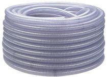 F-FELDTMANN-Schläuche und Zubehör, PVC-Saug- und Druck-Schlauch, mit Federstahlspirale, 75