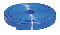F-FELDTMANN-Schläuche und Zubehör, PVC-Flach-Schlauch, 77 mm, blau