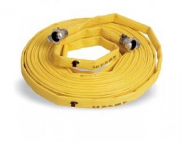 F-FELDTMANN-Schläuche und Zubehör, Universal-Schlauch, AIR 20, 25 mm, 20 m, gelb