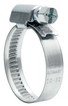 F-FELDTMANN-Schläuche und Zubehör, Schnecken-Gewinde-Schelle, 12MM / 80-100MM