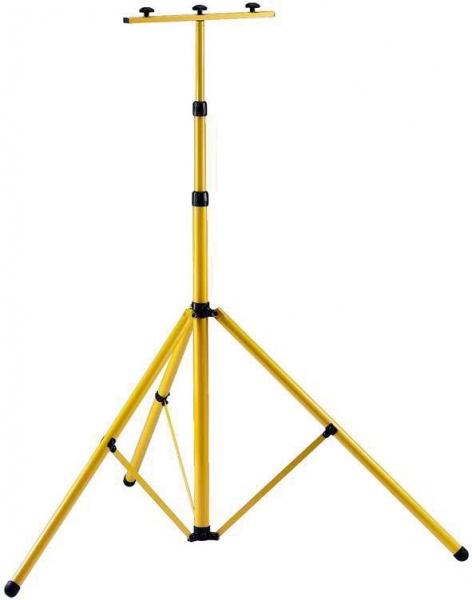 F-Elektro-Kleinartikel, Bau-Teleskop-Stativ, gelb, höhenverstellbar 115-300 cm