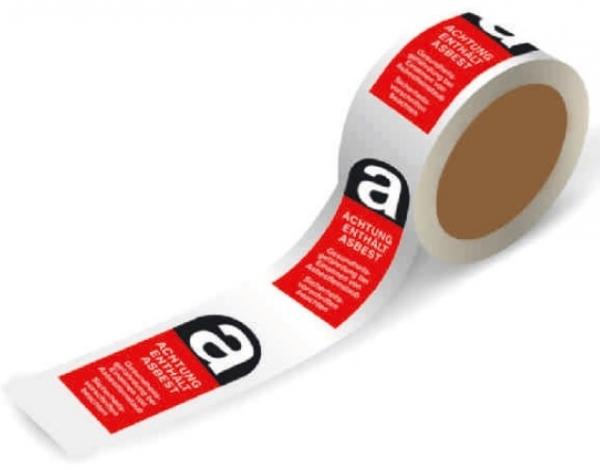 F-FELDTMANN-Warn-Artikel-Produkte, Absperr-Band, fadenverstärkt, 66 m, 50 mm