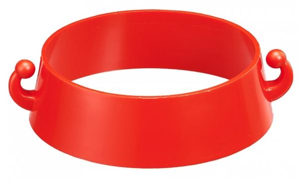 F-Leitkegelkettenhalter, rot
