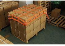 F-FELDTMANN-TECTOR-Spann-Gurtnetz, Gurtband-Netz, groß, orange