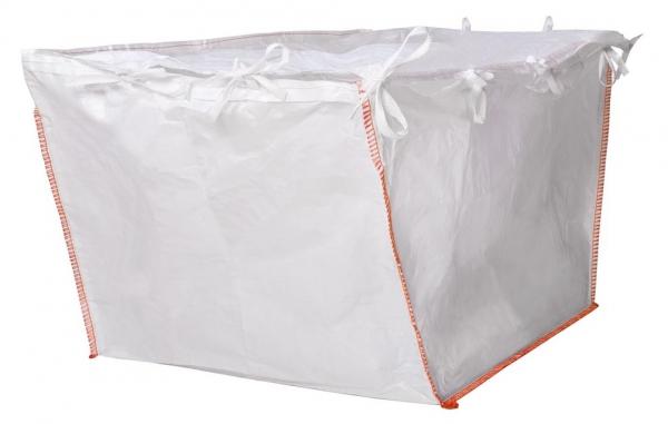 F-FELDTMANN-TECTOR-Bags-Transport-Entsorgung-Container-Säcke, Container-Bags für Absetzmulde - Asbest, 340/220 x 195 x 165 cm